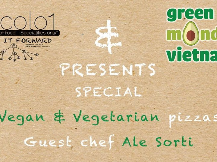 Vicolo joins #GreenMonday with vegan pizza options!