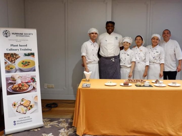 HSI Plant-based Dessert Training at Park Hyatt Saigon