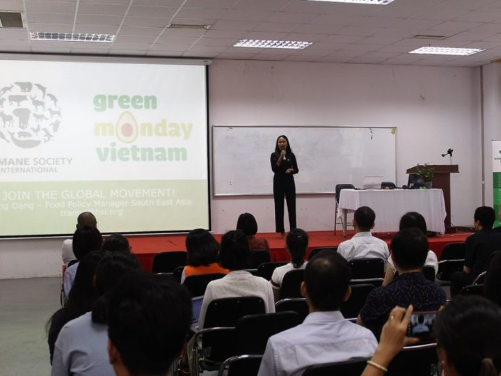 Green Monday Vietnam event at Vietnam-German University