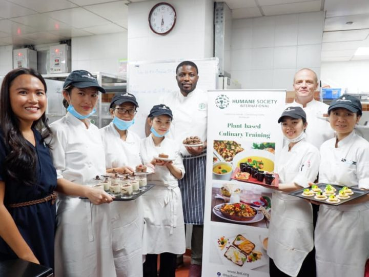HSI Plant-based training with Intercontinental Saigon